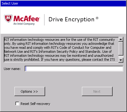 Enter Your Rit Computer Account Password Twice While You Can Use A Separate To Decrypt Laptop We Strongly Recommend The Same