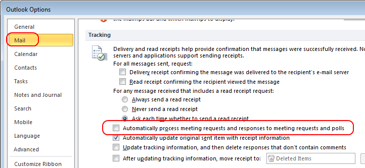 Reject All Meeting Requests And Provide An Auto Reply Saunders